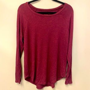 American Eagle soft and cozy plush long sleeve top